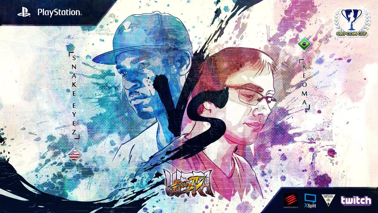 Snake Eyez VS Keoma