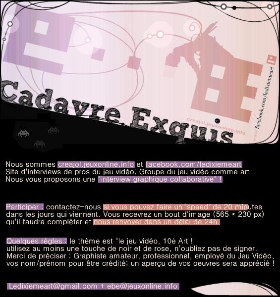 Présentation du Cadavre Exquis collaboratif