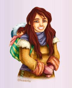 Isabelle Goydadin - Femme souriante
