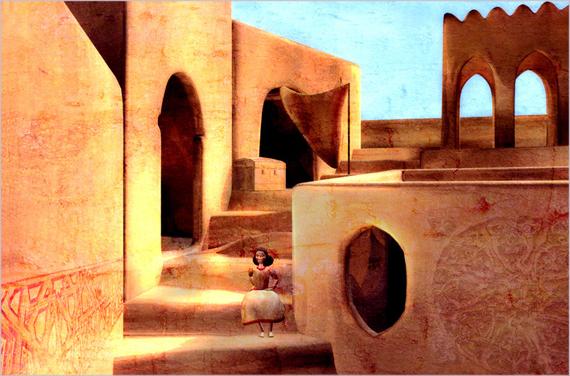 Image extraite d'un projet de court métrage