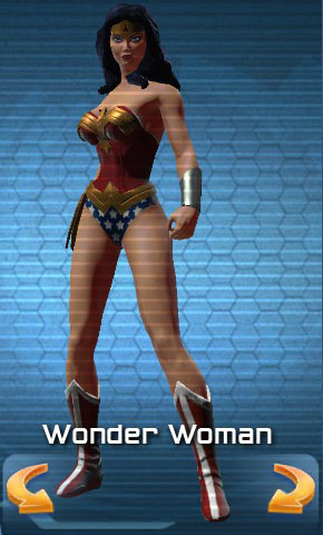 Wonder Woman sélection