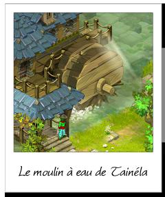 Le moulin à eau de Tainéla