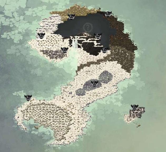Cartographie de Frigost