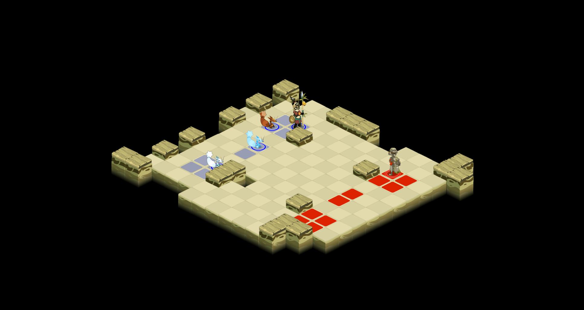 Salle du boss tactique