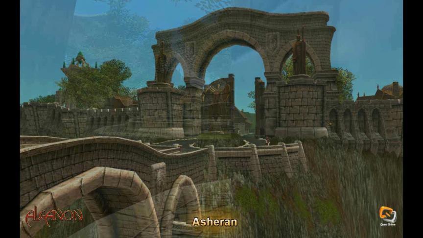 Aperçu de régions d'Alganon