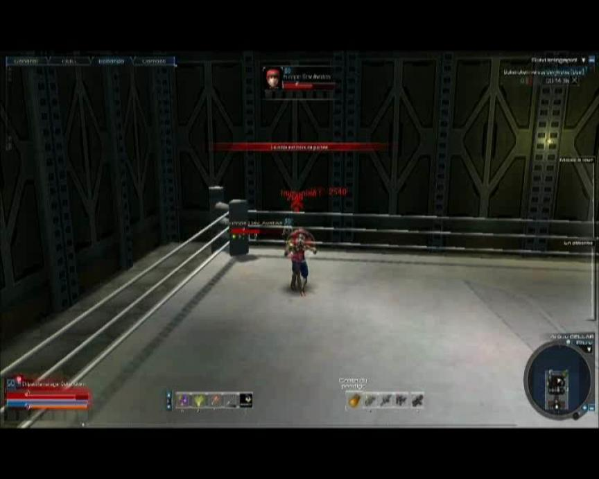 Combat de boxe entre Avatea et Duke