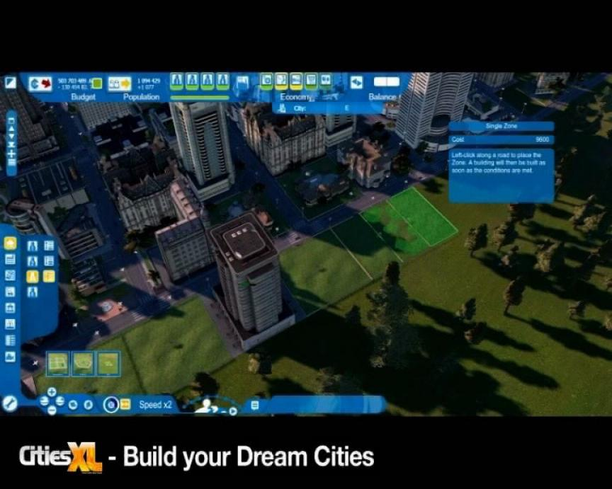 Gameplay de Cities XL