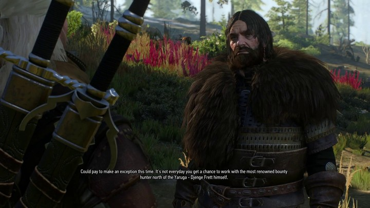 Aperçu du gameplay brut de The Witcher 3: Wild Hunt