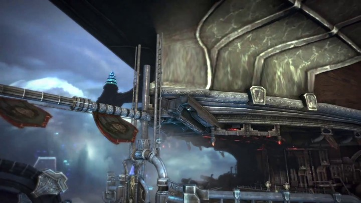"""Aperçu de """"l'Aéronef volant"""", le donjon  haut niveau de Tera: Fate of Arun"""