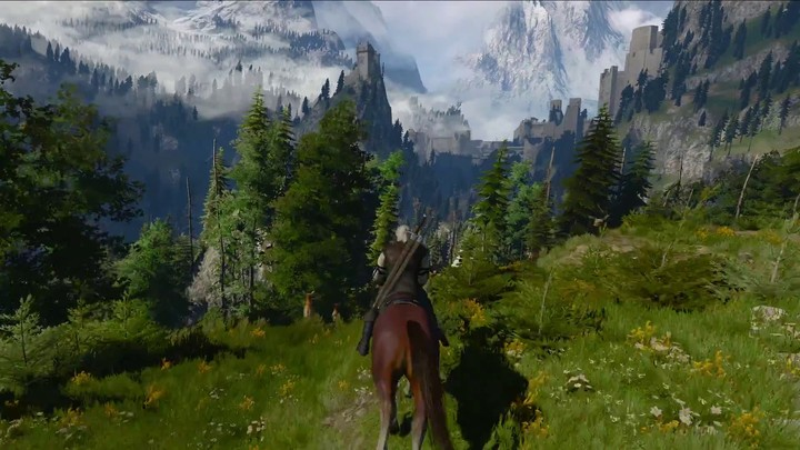 Bande-annonce de gameplay de The Witcher 3: Wild Hunt