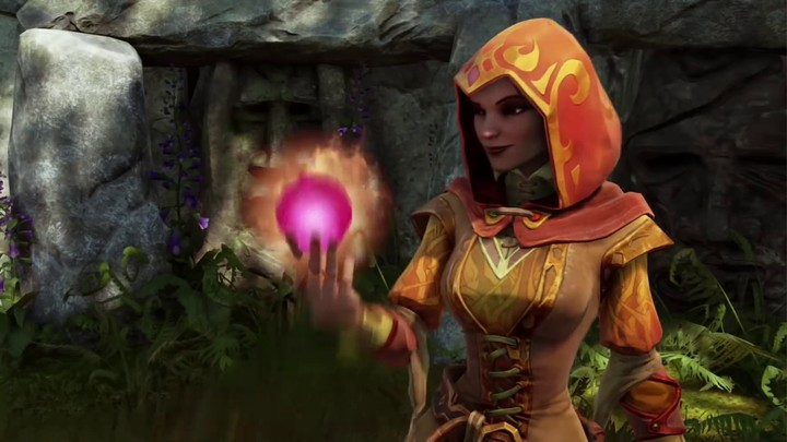 Présentation de Glory, la magicienne de Fable Legends