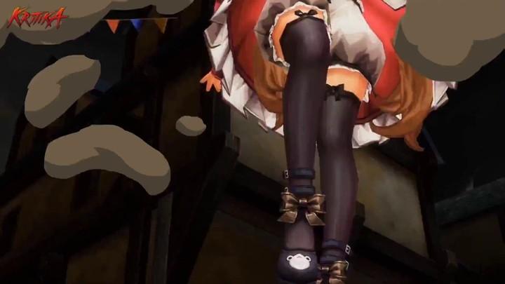 Aperçu du gameplay (explosif) de Nobleria dans Kritika