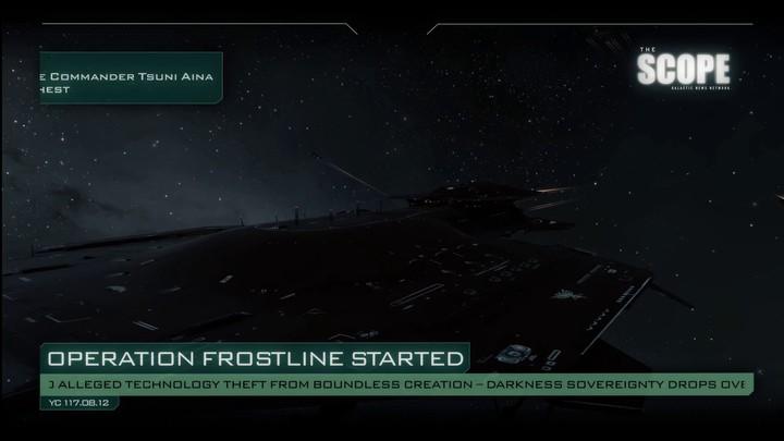 "Bande-annonce de l'animation ""Operation Frostline"" sur EVE Online (VOSTFR)"