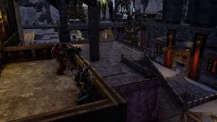 Alpha : aperçu de la carte Pegasus Station de Warhammer 40 000 - Eternal Crusade