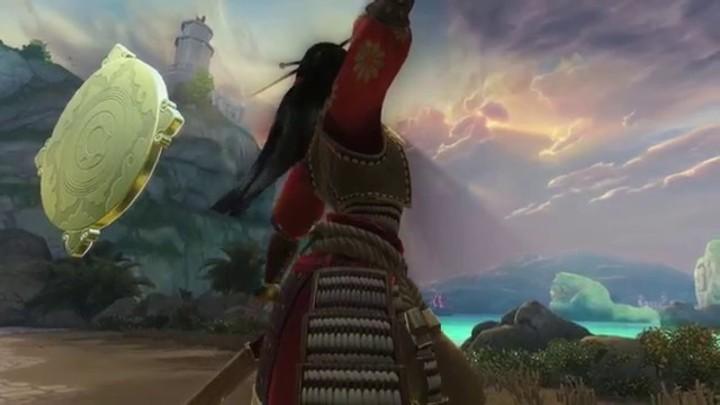 Premier aperçu de la déesse Amaterasu, issue du panthéon japonais de SMITE