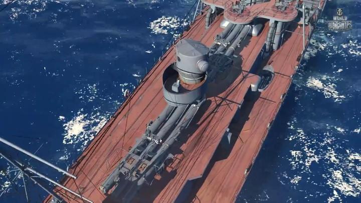 Aperçu des destroyers soviétiques de World of Warships