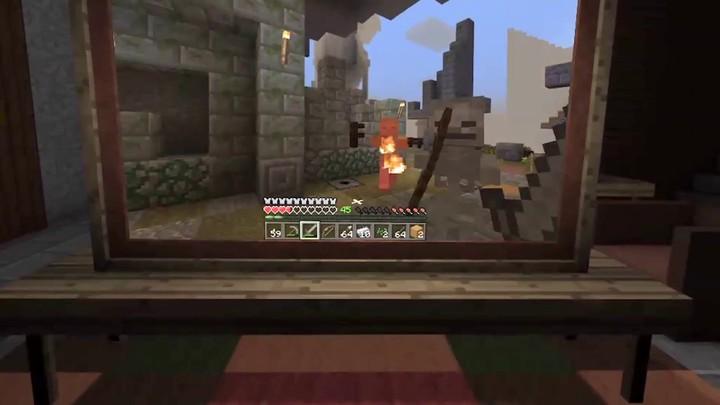 Minecraft s'annonce sur le Gear VR
