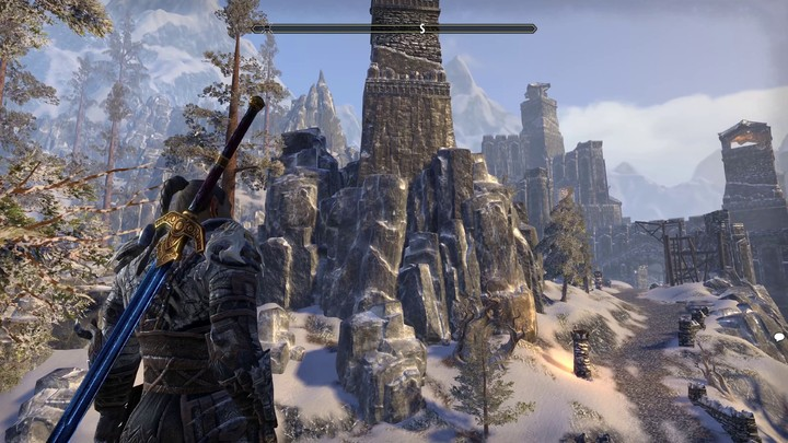 The Elder Scrolls Online s'annonce sur PlayStation 4 Pro