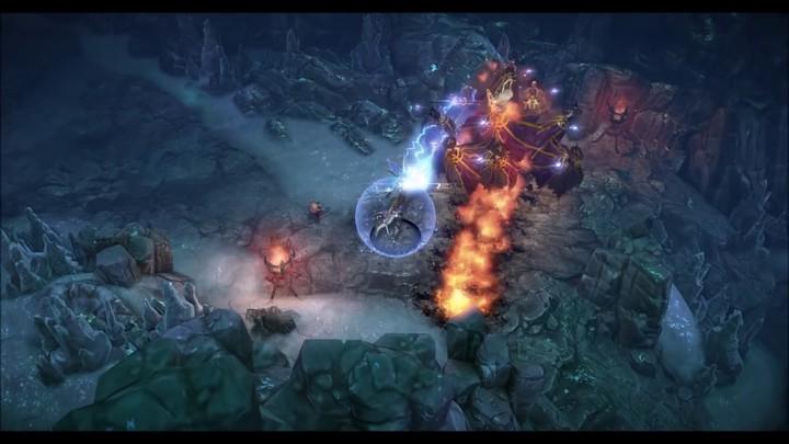 Présentation du gameplay du War Mage de MU Legend