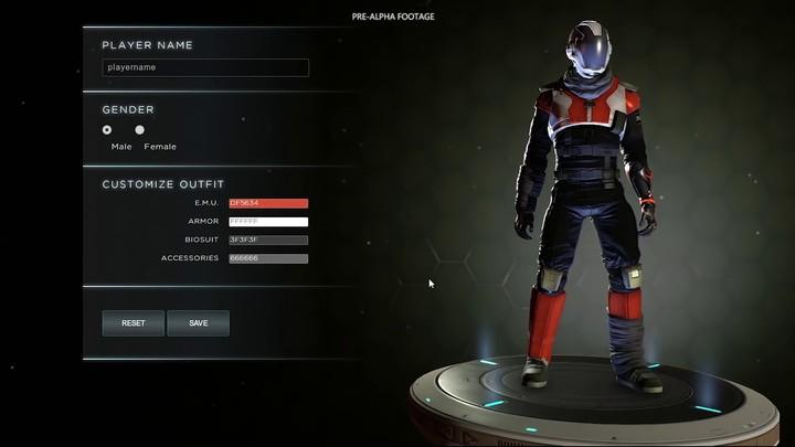 Pré-alpha : aperçu de la création de personnages dans Dual Universe