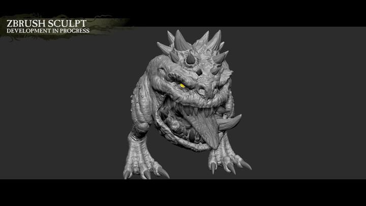 Aperçu des Squigs de Total War Warhammer: The King & The Warlord