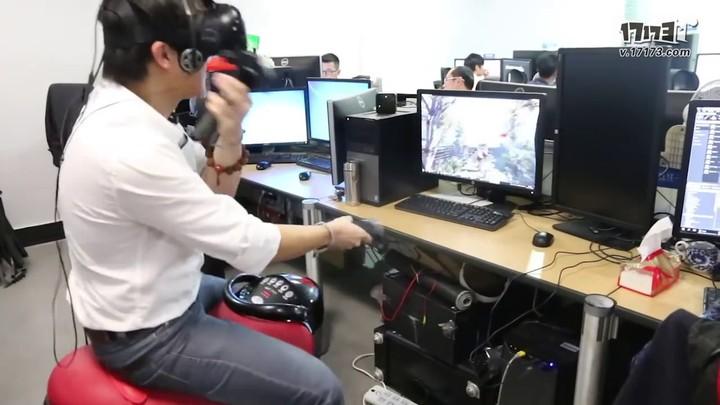 Prototype : chevauchée dans Tiger Knight en réalité virtuelle