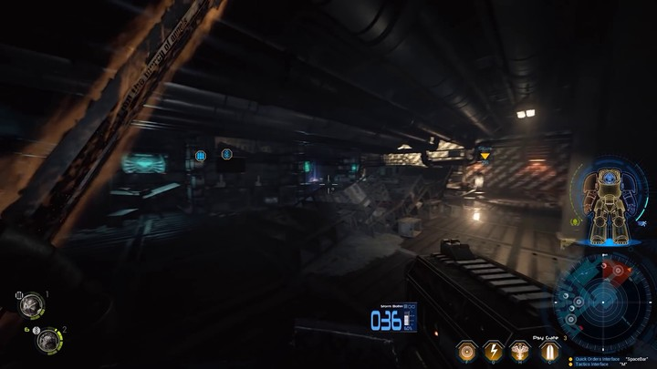 Vidéo de gameplay de la campagne solo de Space Hulk: Deathwing