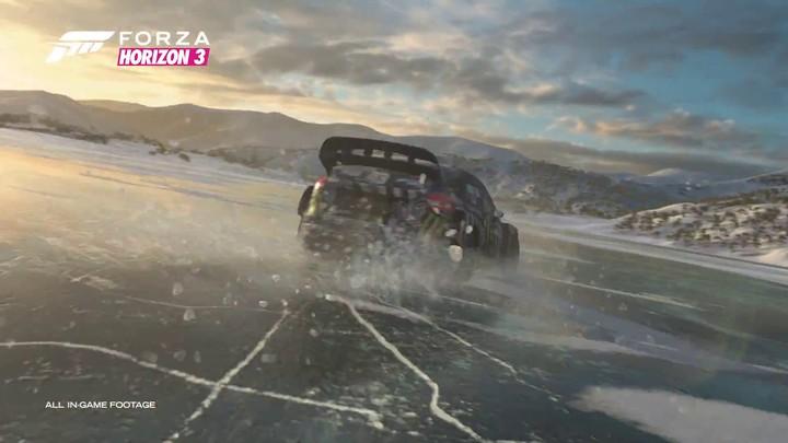 Bande annonce de l'extension Blizzard Mountain pour Forza Horizon 3