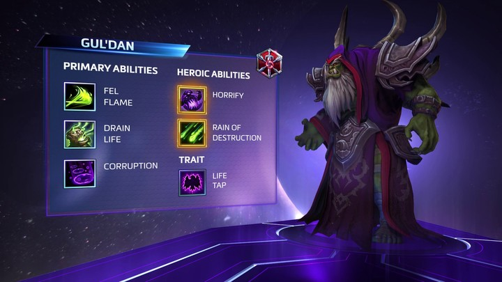 Lumière sur Gul'dan, l'assassin à distance d'Heroes of the Storm (VOSTFR)