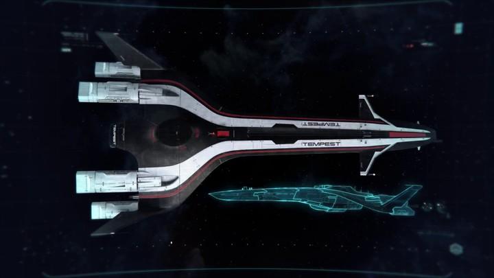 Des déplacements dans Mass Effect: Andromeda : le Tempest et le Nomad