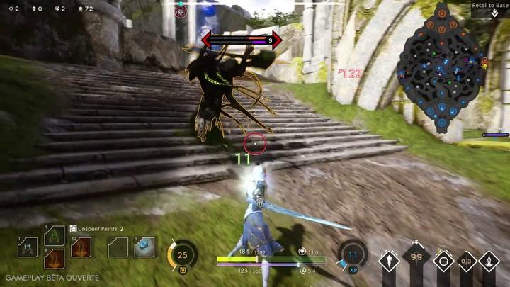 Présentation des capacités de contrôle d'Aurora dans Paragon
