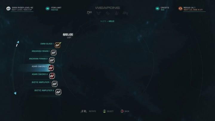 Journal de développement - Armes et combats dans Mass Effect Andromeda