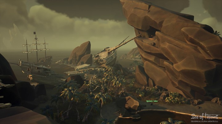 Aperçu de l'alpha technique 0.1.1 de Sea of Thieves