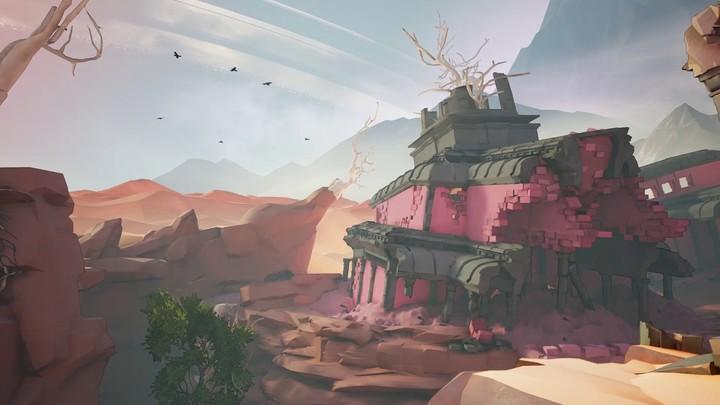 Aperçu de la carte « Ravine » de Mirage: Arcane Warfare