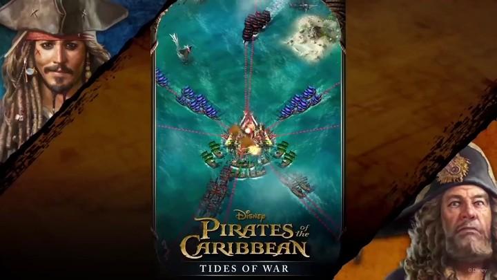Bande-annonce de lancement de Pirates of the Caribbean: Tides of War