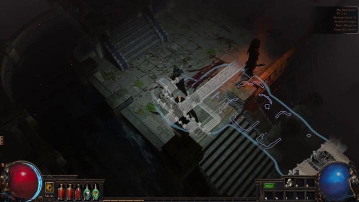 Aperçu de la minimap de Path of Exile 3.0.0