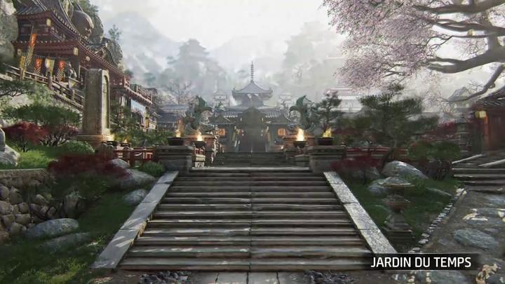 """Aperçu de la carte """"Jardin du Temple"""" de For Honor: Shadow & Might"""