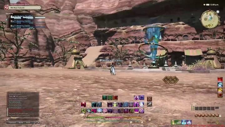 FFXIV Stormblood - Promenade à Gyr Abania