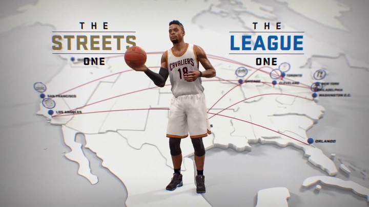 [E3 2017] - Présentation du mode The One de NBA Live 18