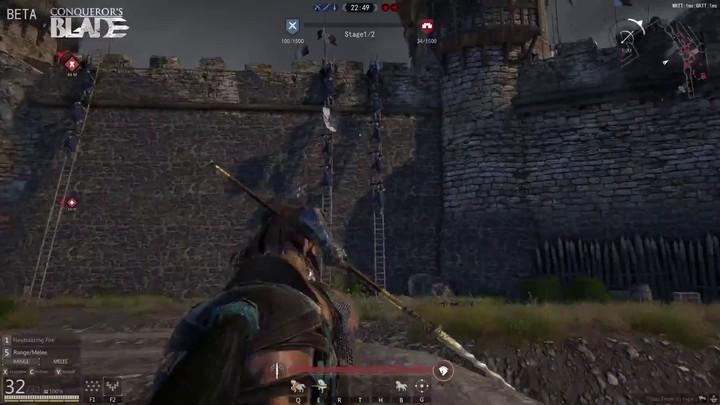 Aperçu du gameplay de Conqueror's Blade (War Rage)