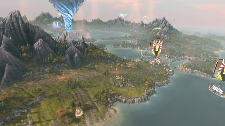 Exploration de la carte de campagne de Total War Warhammer II