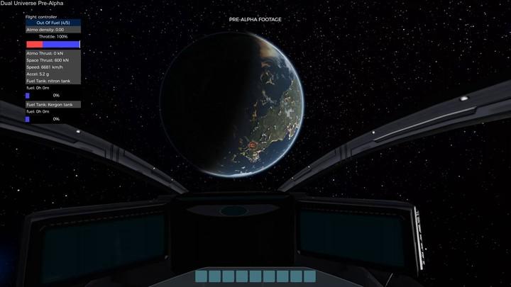 Exploration spatiale de Dual Universe : de la lune d'Alioth à la planète Alioth