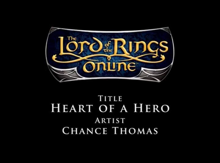 Bande Originale du SdaO - Chance Thomas - Heart of a Hero