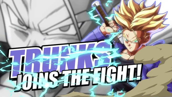 Trunk se dévoile dans Dragon Ball FighterZ
