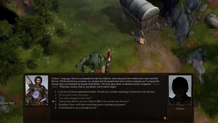 Aperçu du gameplay brut de Pathfinder Kingmaker