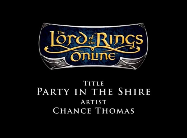 Bande Originale du SdaO - Chance Thomas - Party in the Shire