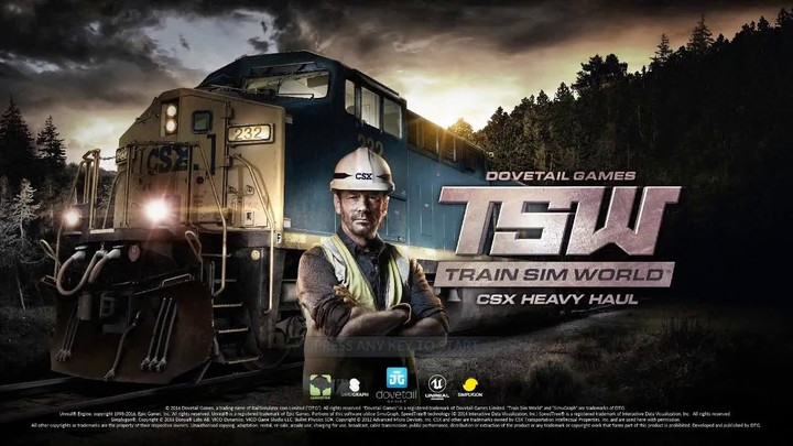 60 minutes chrono : Train Simulator | CSX Heavy Haul