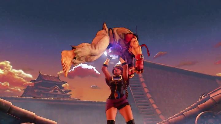 Menat se dévoile dans Street Fighter V