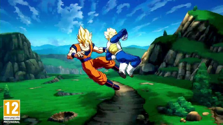 Présentation de Vegeta dans Dragon Ball FighterZ