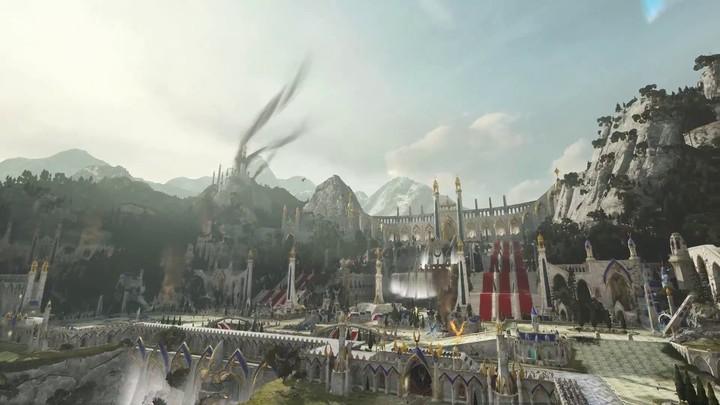 Aperçu de la Porte de l'Aigle des Hauts-elfes de Total War Warhammer 2